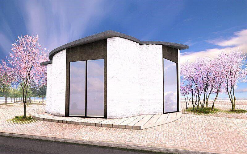 Dom wydrukowany w technologii 3D
