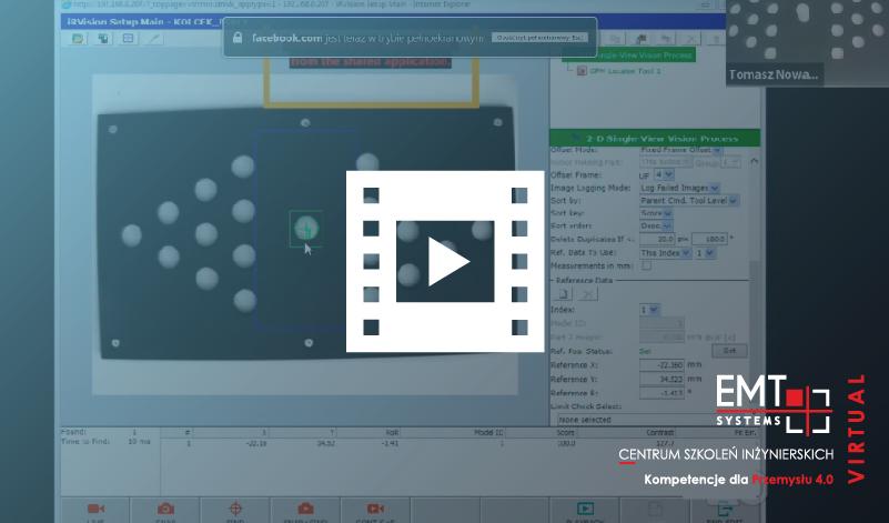 Webinar: System wizyjny Fanuc iRVision – pierwsze kroki