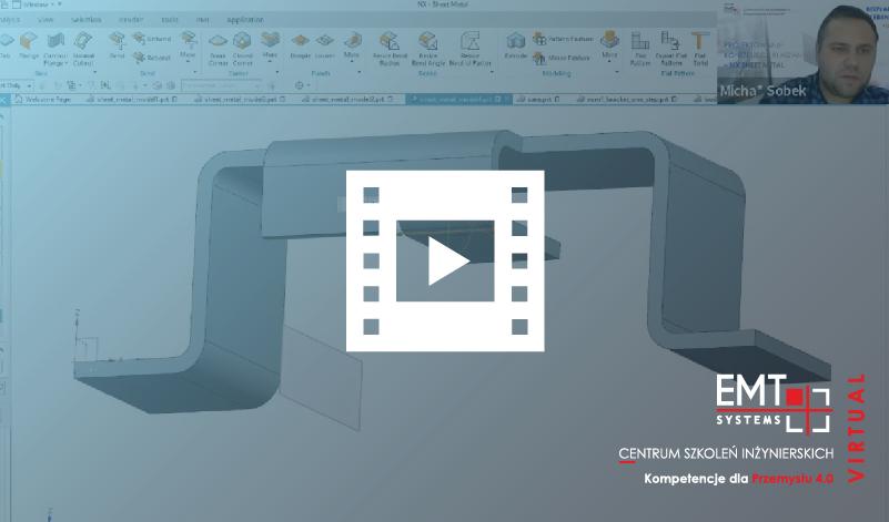 Webinar: NX Sheet Metal – projektowanie konstrukcji blaszanych