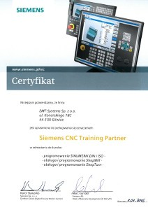Siemens CNC Training Partner