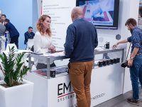 EMT-Systems było reprezentowane przez Agatę Rakotny i Martę Anioł, byliśmy częścią dużego stoiska firmy C-L, która jest liderem w zakresie w zakresie dystrybucji surowców i urządzeń do wytwarzania kompozytów