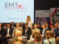 Konferencja techniczna Axon Media we Wrocławiu, na której reprezentowały nas Honorata Ulanecka oraz Agata Buchcik, która opowiadała o EMT-Systems podczas Elevator Pitch