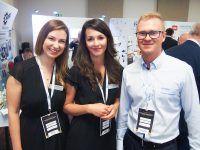 Konferencja Axon Media w Toruniu. EMT-Systems reprezentowały Paulina Smyczyńska oraz Magdalena Harwik