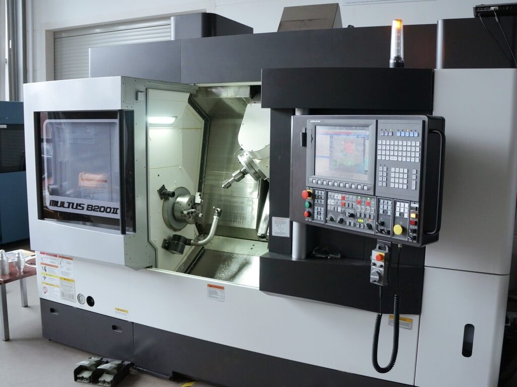 cnc machine operating