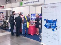 Stoisko EMT-Systems podczas Międzynarodowych Targów Utrzymania Ruchu, Planowania i Optymalizacji Produkcji Maintenance w EXPO Kraków