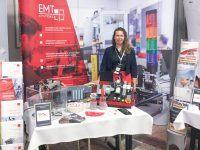 Targi i konferencje Axon Media z udziałem EMT-Systems. Stoisko wystawiennicze