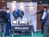 Bezpłatne warsztaty techniczne EMT TOUR: Technologie Przemysłu 4.0 w integracji i utrzymaniu ruchu procesów produkcyjnych. Stoisko Balluff