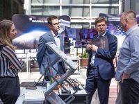 Warsztaty EMT TOUR Technologie Przemysłu 4.0 w integracji i utrzymaniu ruchu procesów produkcyjnych - stoisko ifm electronic