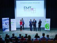 Finał konkursu 3MT na trzyminutowe rozprawy doktorskie. EMT-Systems był fundatorem nagrody specjalnej w postaci wybranego szkolenia