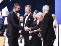 Prezes EMT-Systems Grzegorz Wszołek podczas Wielkiej Gali Liderów Polskiego Biznesu w Teatrze Wielkim - Operze Narodowej w Warszawie