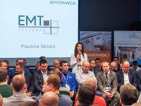 Targi i konferencje Axon Media z udziałem EMT-Systems. Stoisko wystawiennicze, elevator pitch