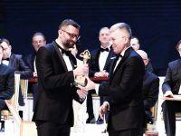 Prezes EMT-Systems Grzegorz Wszołek ze Złotą Statuetką Lidera Polskiego Biznesu 2018