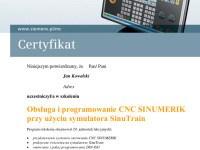Siemens-Certyfikat