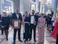 Wielka Gala Liderów Polskiego Biznesu, podczas której Prezes EMT-Systems Grzegorz Wszołek odebrał Złotą Statuetkę Lidera Polskiego Biznesu