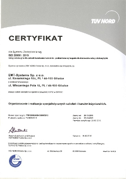 EMT-Systems ISO 29990:2010