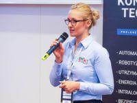 Konferencje techniczne Axon Media. Monika Matyjaszek prezentuje ofertę EMT-Systems