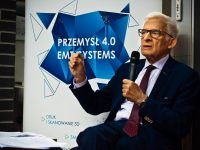 EMT-Systems na konferencji Regionalnej Izby Przemysłowo-Handlowej Blockchain-Przemysł 4.0. Wykład prof. Jerzego Buzka